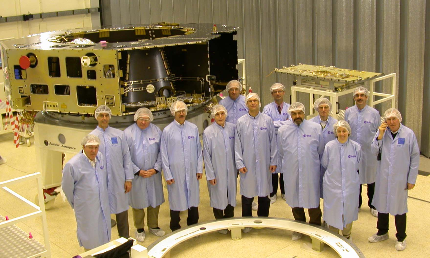 The Herschel Science Team during meeting #22 held on 27 April 2005 at ESTEC