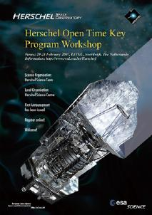 Herschel Open Time Key Program workshop Poster (Click to download the High-Resolution)